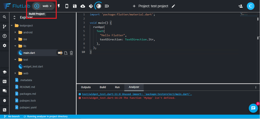 build hover