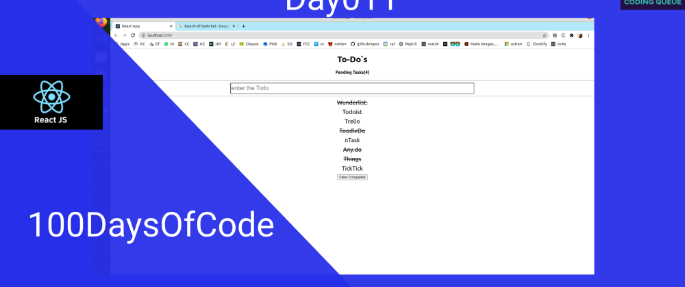 Cover image for Todo with React Hooks