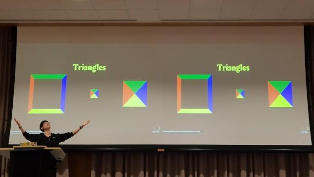 Apparently I like triangles