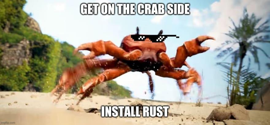 Crab Running Meme