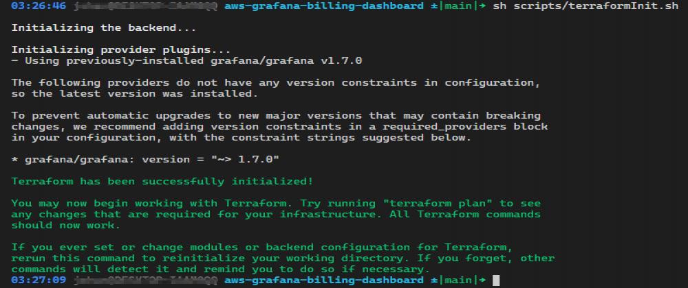 Cover image for How to setup AWS Billing metrics in Grafana Cloud via Terraform