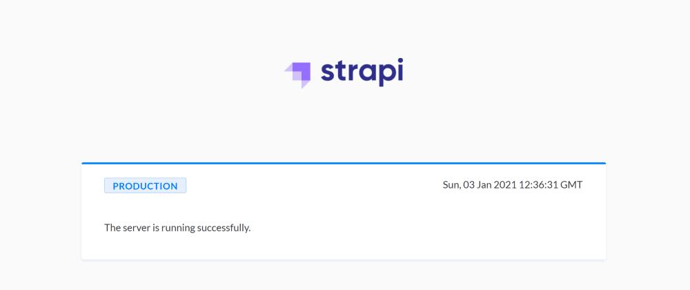 Cover image for Strapi QuickStart on DigitalOcean App Platform