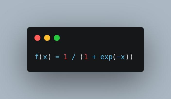 Sigmoid function definition
