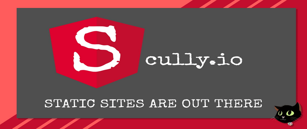 Cover image for Scully.io - Anguler Static Site Generator