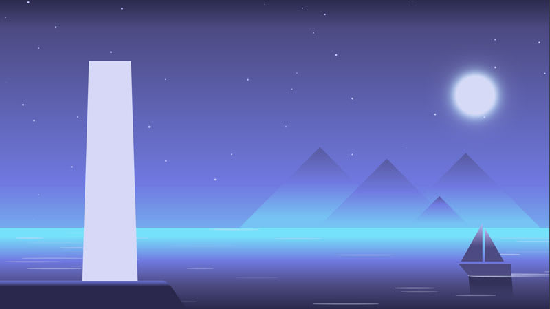 How to create pure CSS illustrations and animate them - Part