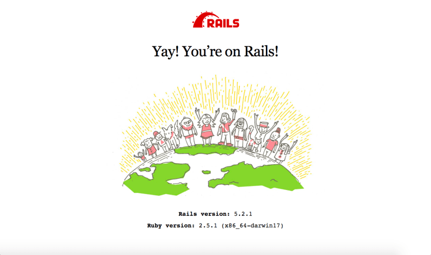 Building a Rails app  Part 1: Installation, Setup and Deploy - DEV