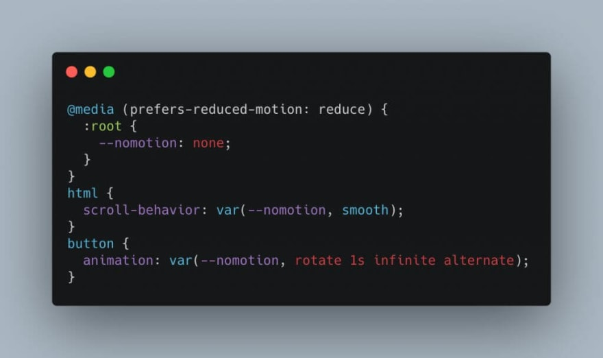 Conditional animations with CSS properties