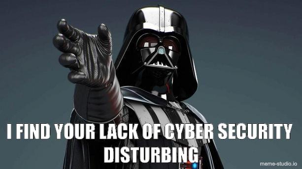 cybersecurity meme