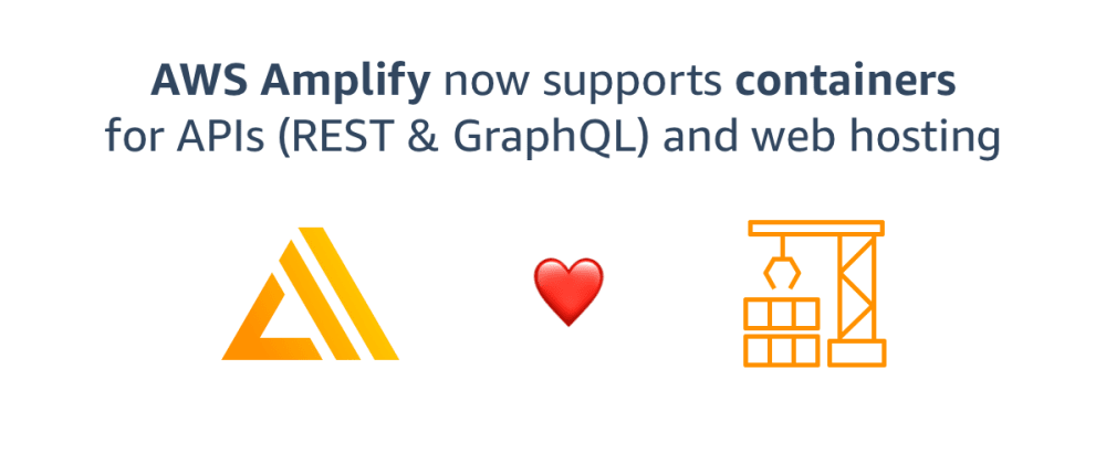 Cover image for You Can Run Containers on AWS Amplify Now