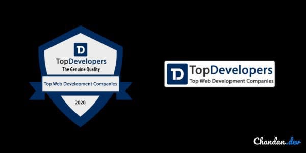 Topdevelopers trust badges