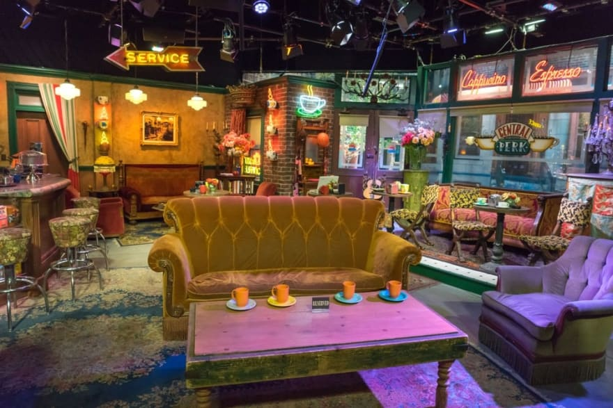 Friends Central Perk Coffee House