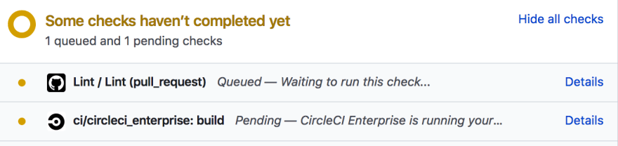 Running Checks with Linting