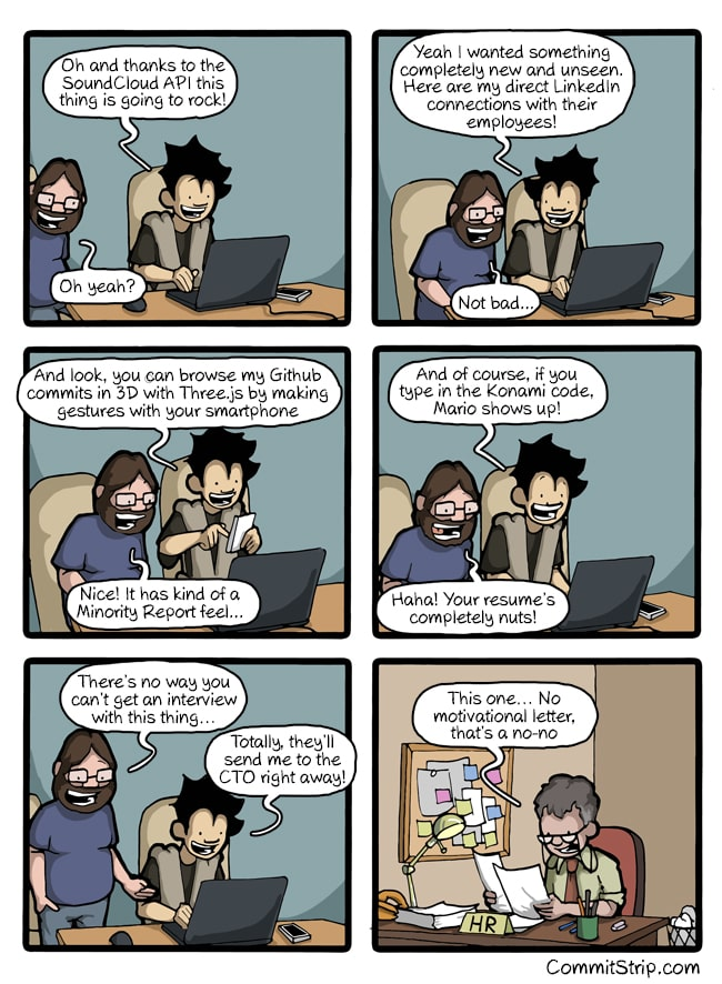 [Comic](http://www.commitstrip.com/en/?) images on Coding from the internet #1
