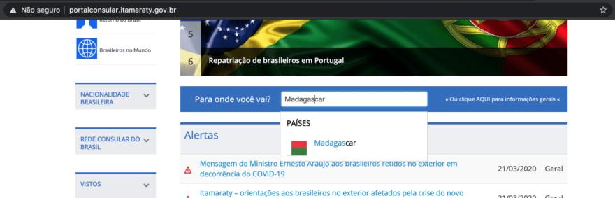 Portal do Itamaraty