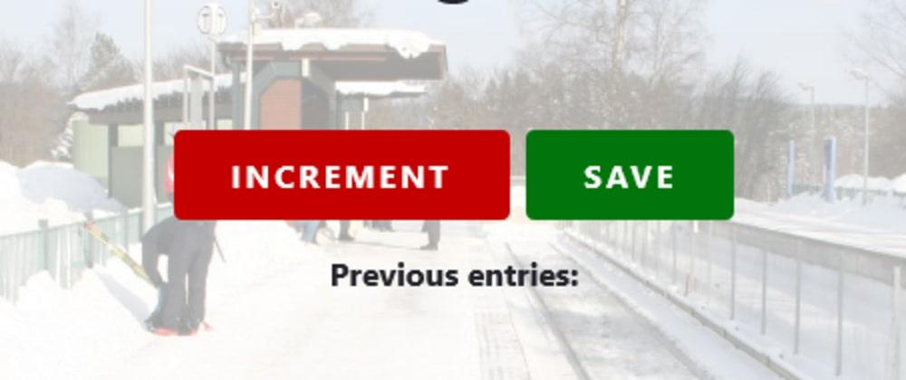 Cover image for Scrimba JavaScript Passenger Counter App