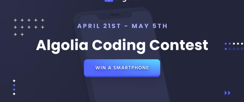 Cover image for Algolia Coding Contest 🧑💻