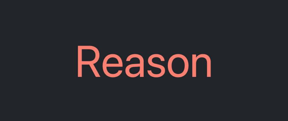 Cover image for Porting my site to Reason