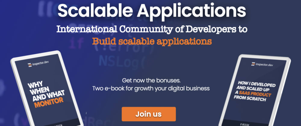 Cover image for Scalable Applications — An international community of developers who build scalable applications