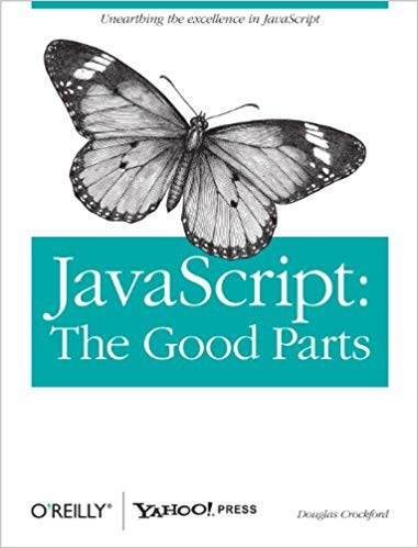 JavaScript: The Good Parts book cover