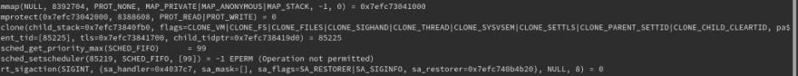 Clone second call
