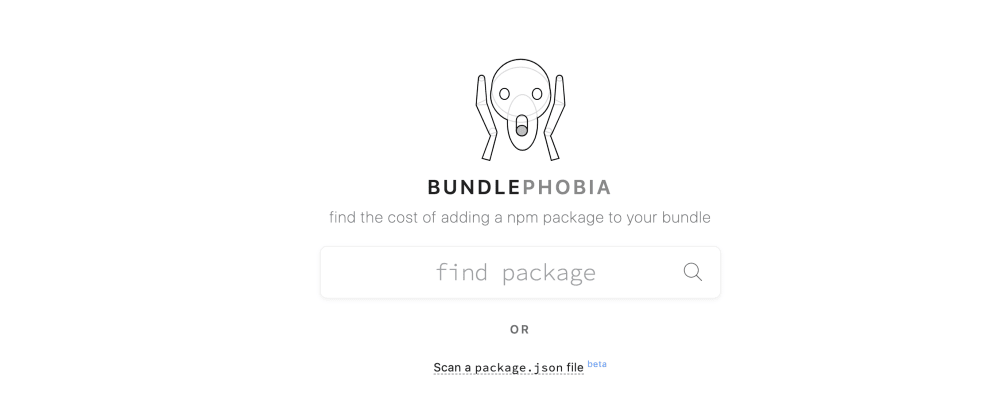 Cover image for Evaluate and find the cost of adding a npm package with Bundlephobia and Moiva