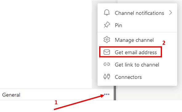 Get email address