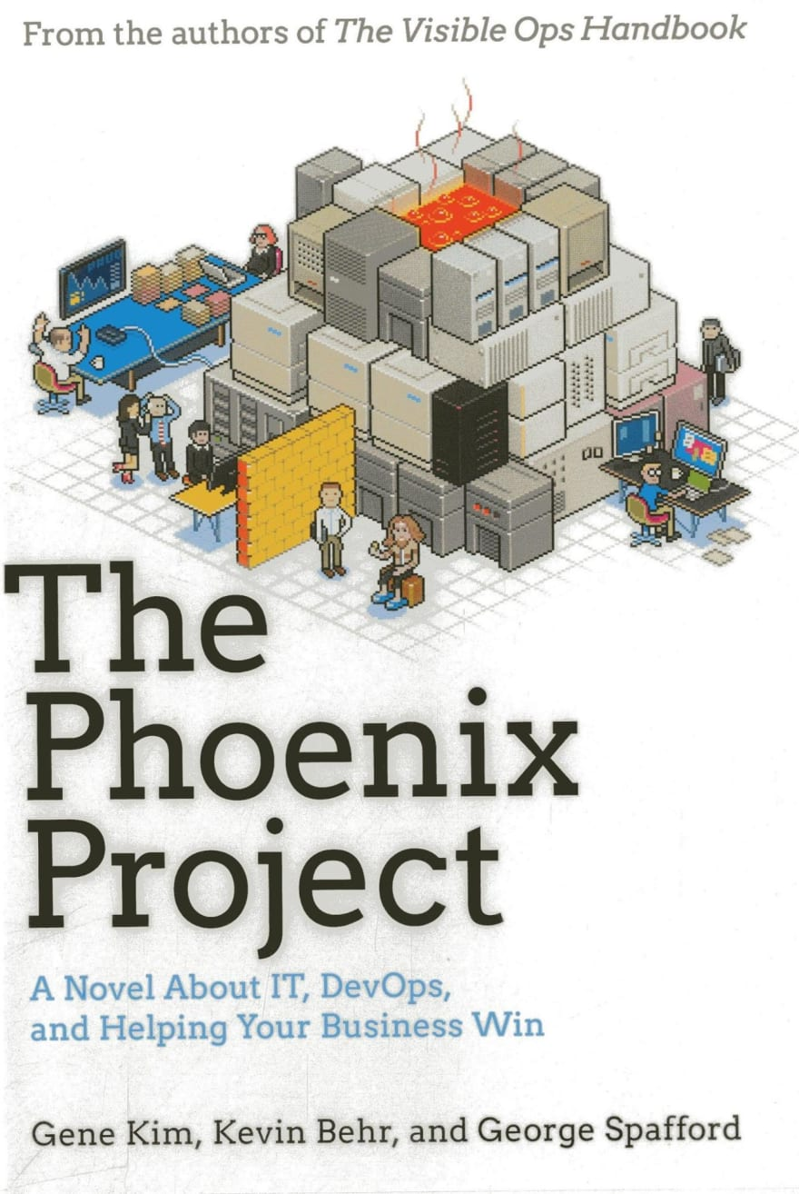 The Pheonix Project book cover