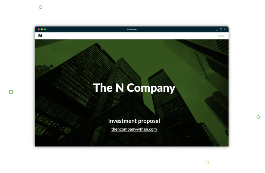 landing-page-investment-proposal