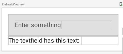 Jetpack Cmpose Textfield