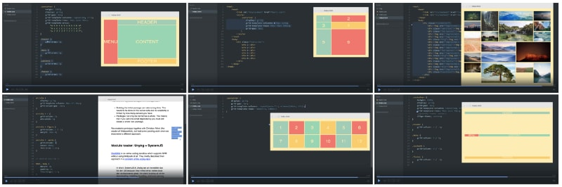 Click the image to get to the full CSS Gridcourse.