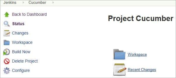 Configure Cucumber Project