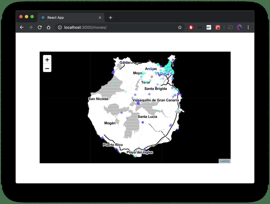 Finished map
