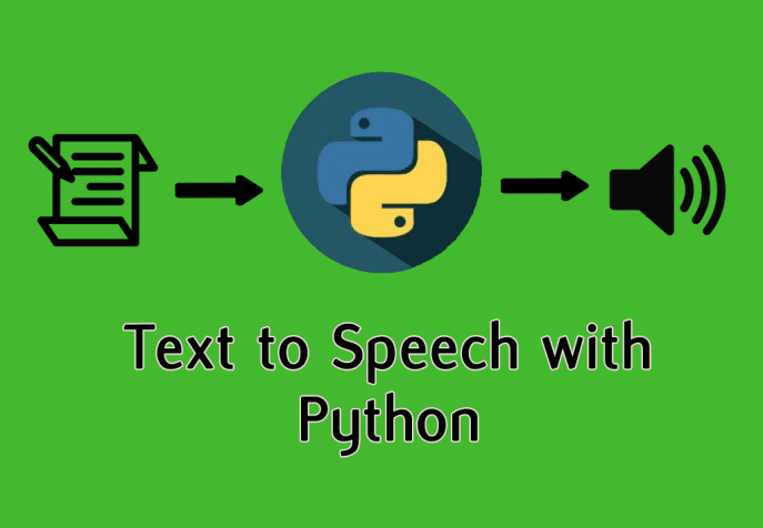 Creating audios from text with Python