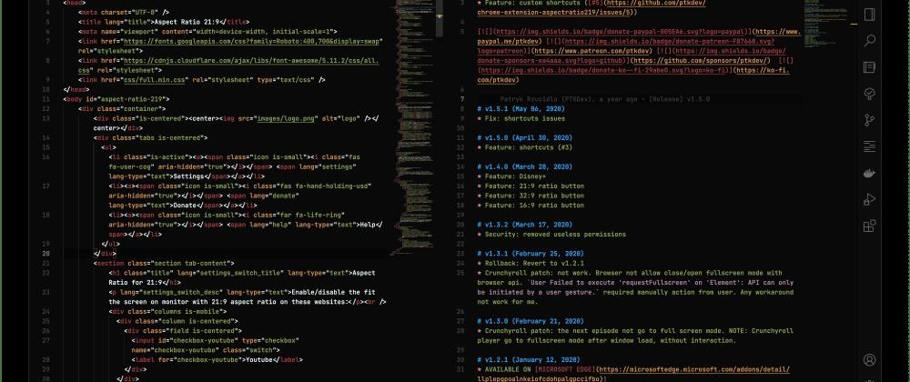 Cover image for Dark Blood v3.0.0 - Theme for VSCode