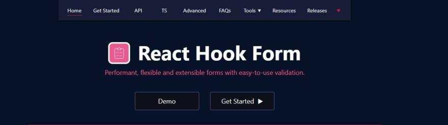 React Hook Form