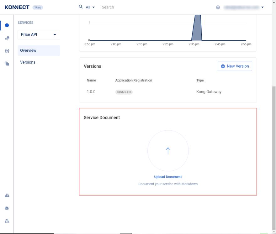Upload API documentation