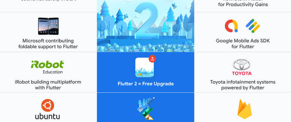 Cover image for Top 5 Flutter 2.0 features you should know
