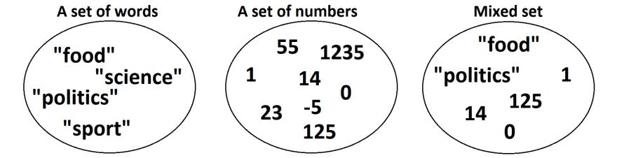 Set example 1