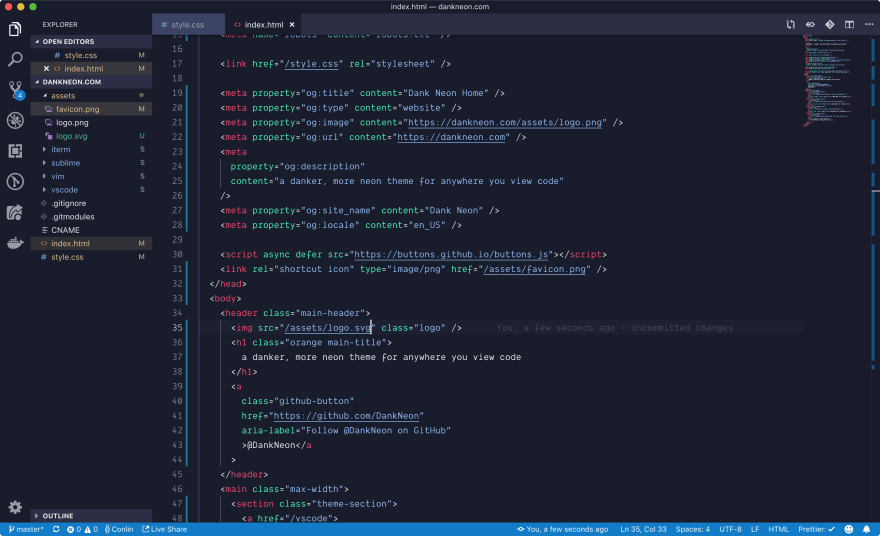 15 underrated VSCode Themes for a change in 2019 🤷🏻 ♀️ - DEV