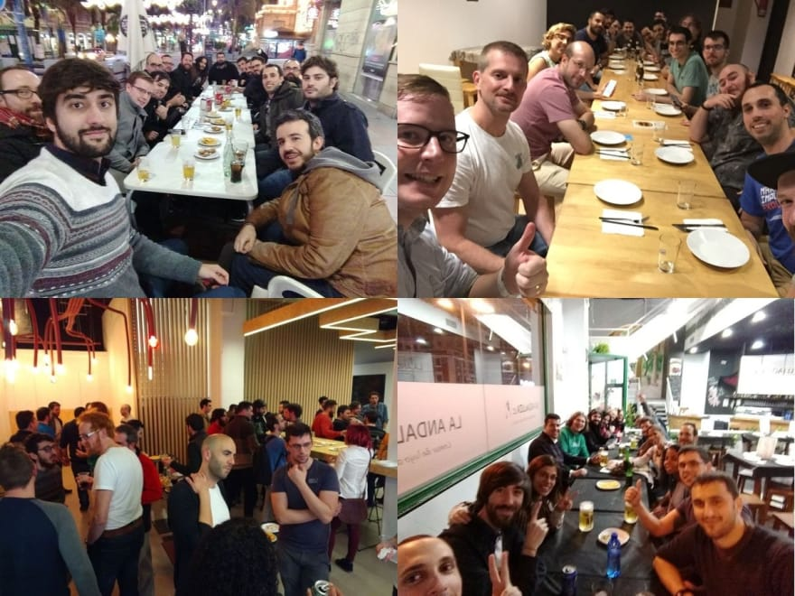 Alicante Frontend's networking