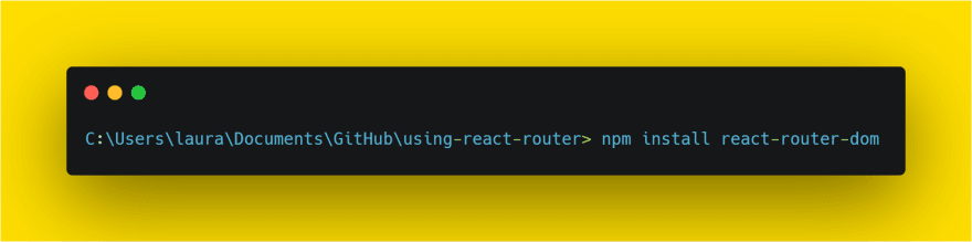 react-router-dom