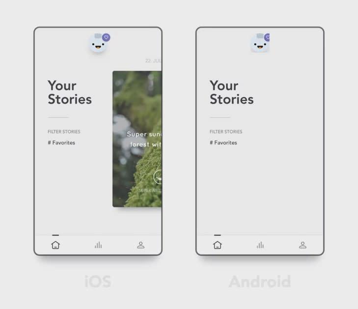 Reflectly—Journaling flutter app