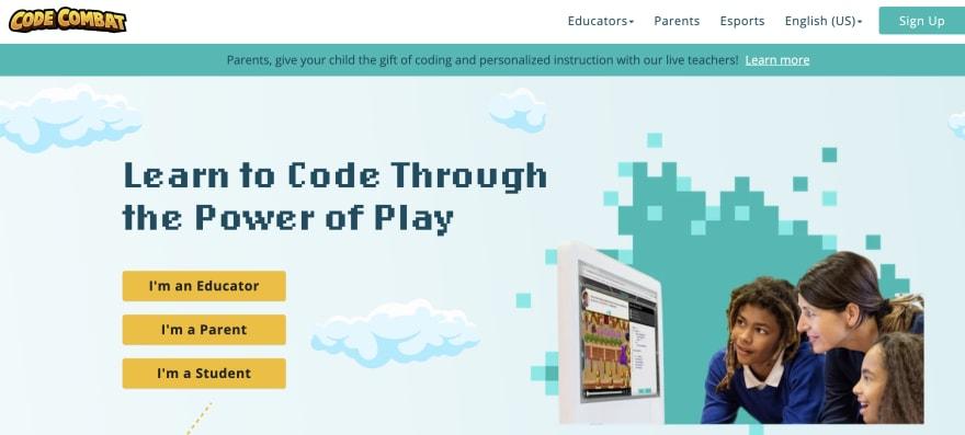 Code Combat javascript gaming