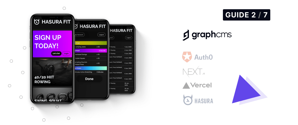 Cover image for Hasura Fit: Setting up GraphCMS