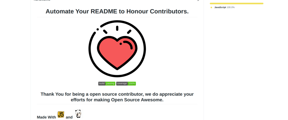 Cover image for Thanks Action- A Github Action to Automate Your Readme and generate Wall Of Honour.