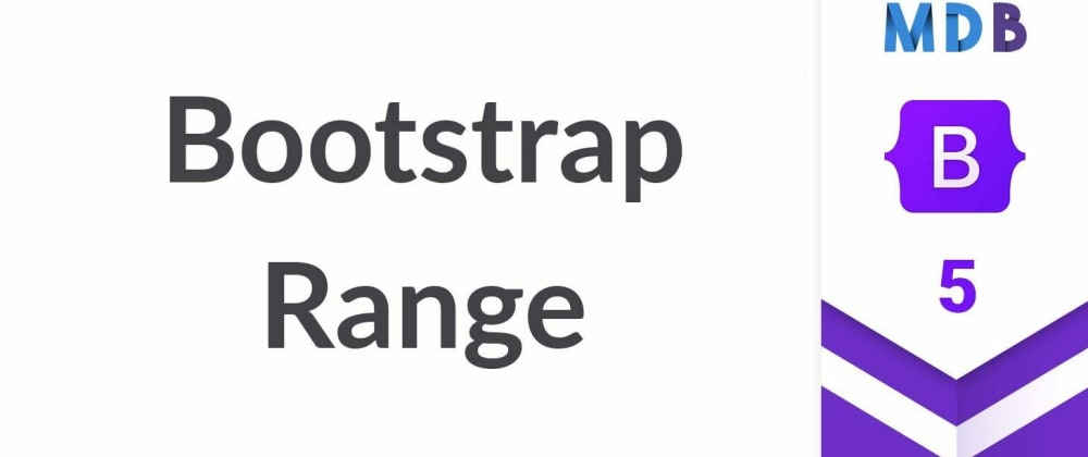 Cover image for Bootstrap 5 Range