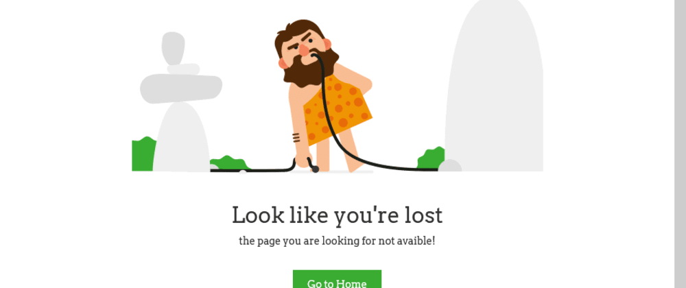 Animated 404 Page