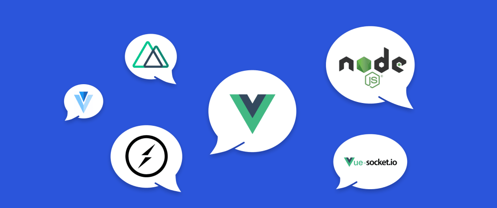 Cover image for Chat-app Creation in Real-Time Mode Using Vue.js, Nuxt.js, Node.js (Express), Socket.IO, Vue-Socket.IO, Vuetify.js Technologies.