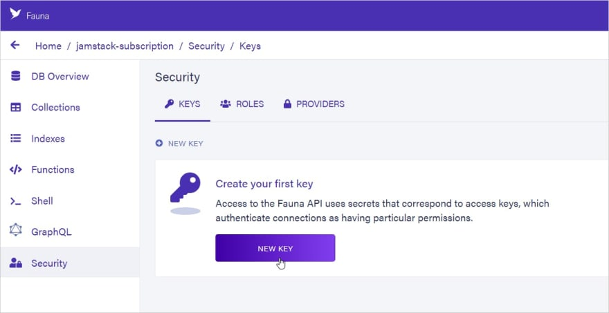 Create Security Token