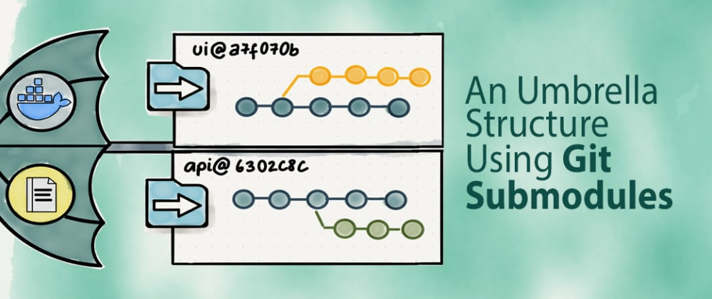 Cover image for Git Explained: A Project Umbrella Structure Using Git Submodules